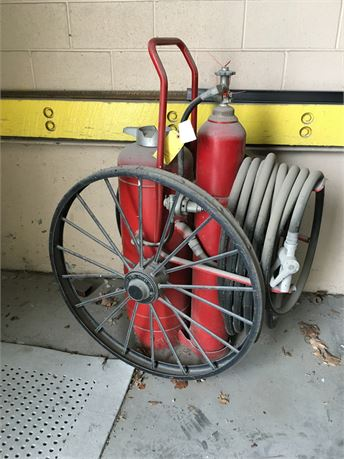 ANSUL Dry Chemical Fire Extinguisher